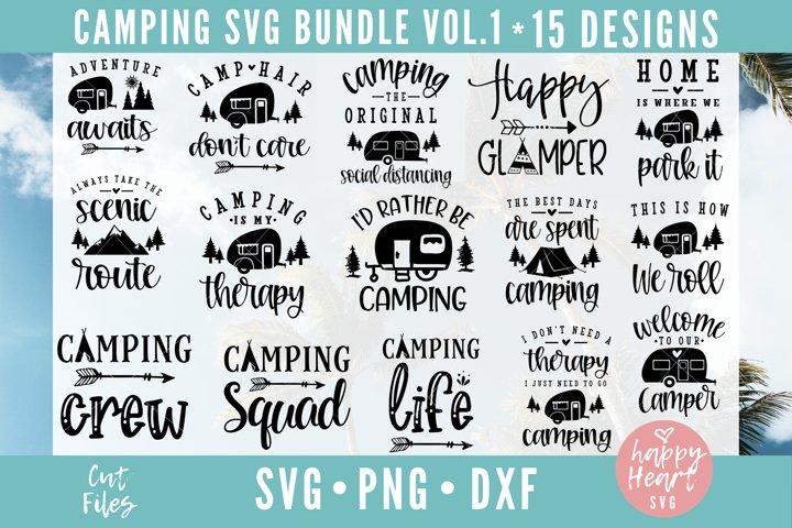Camping Bundle - 15 Designs
