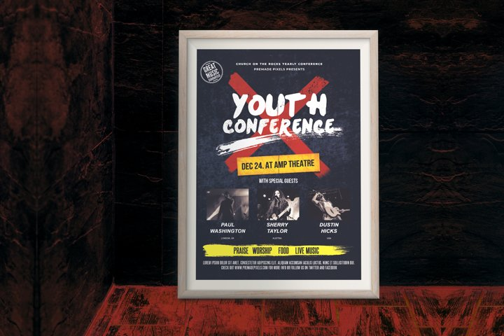 Youth Conference Flyer