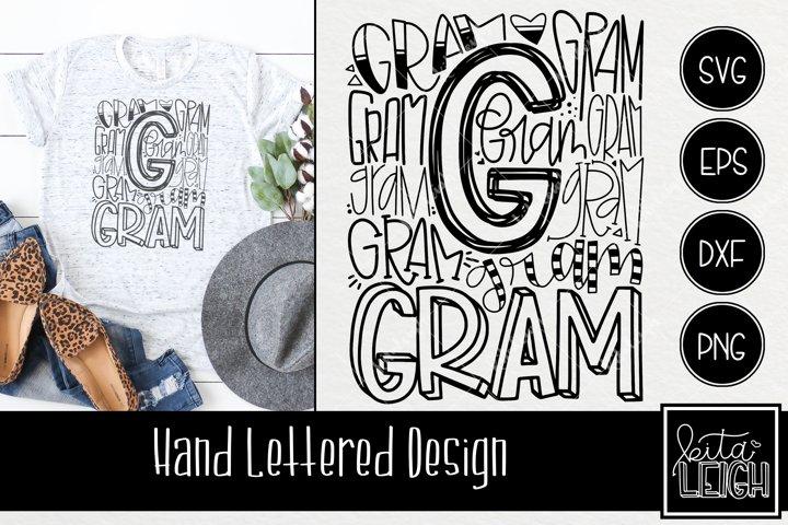 Gram Typography SVG