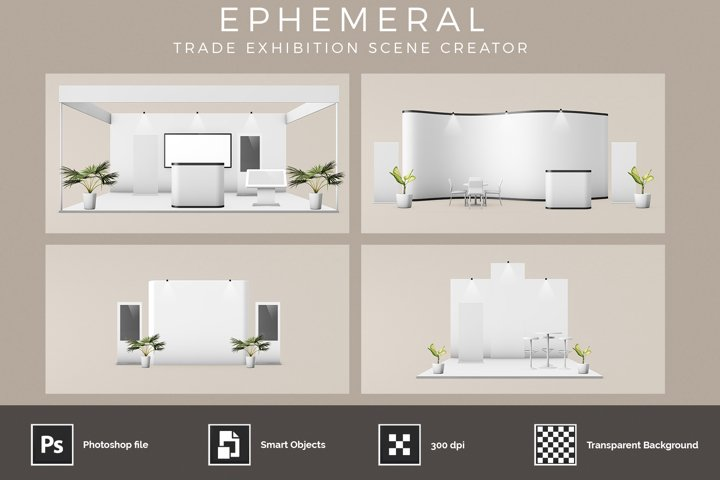 Ephemeral - Stand Exhibition Booth Scene Creator