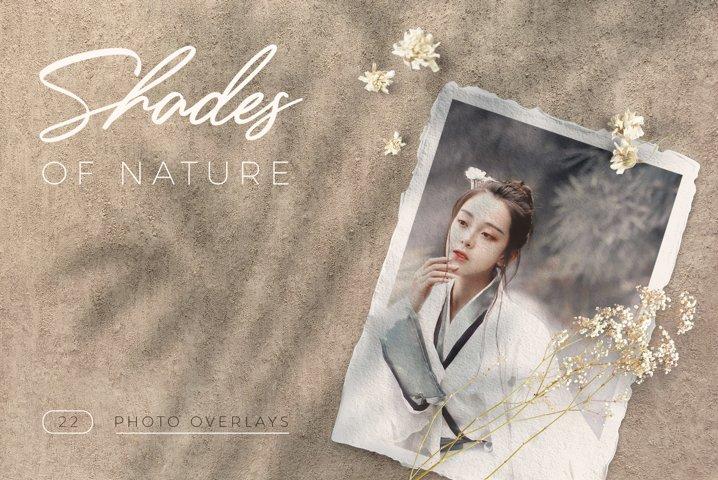 Shades of Nature. 32 Photo Overlays