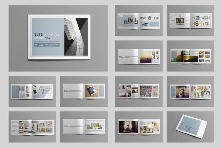 Portfolio Brochure , Indesign Template