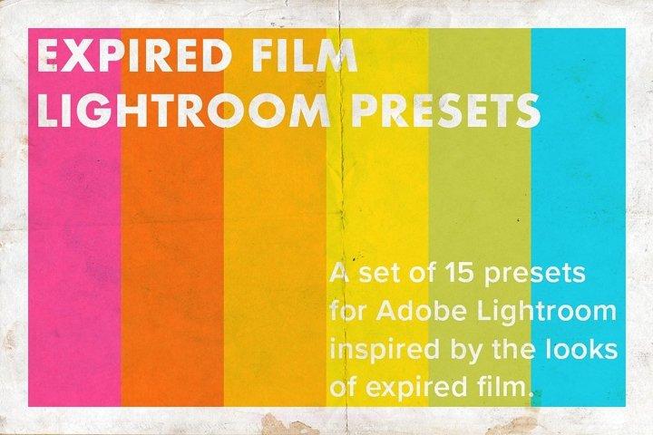 Expired Film Set of Lightroom Presets