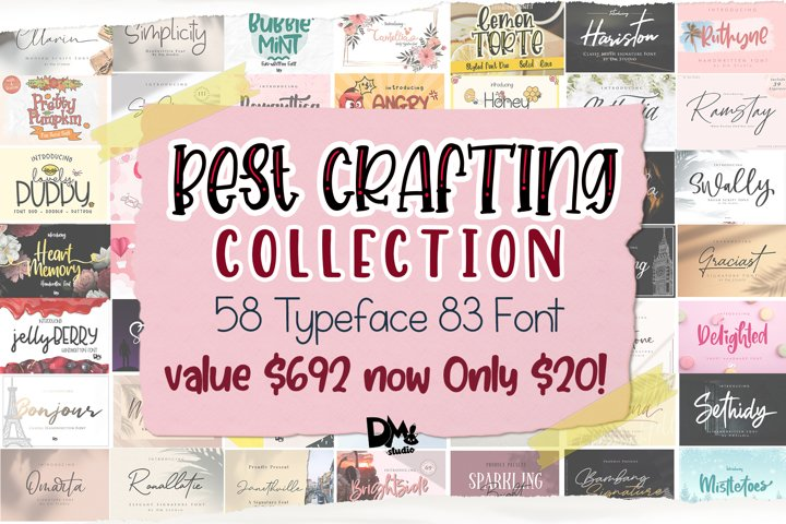 MEGA BEST CRAFTING COLLECTION BUNDLE!!