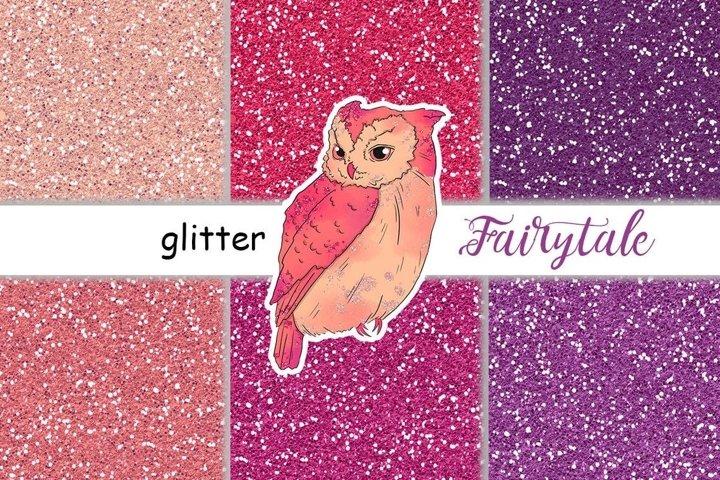 Fairy Tale GLITTER Happy Autumn Magic Pumpkin Digital - JPEG