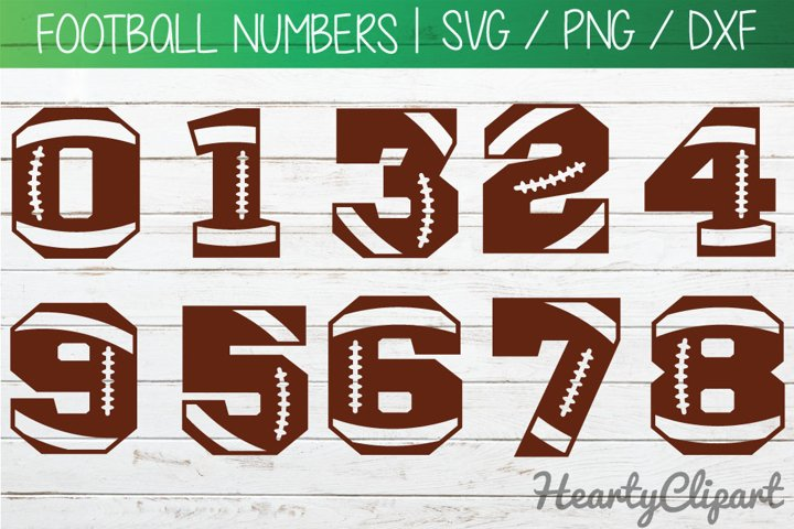 Football svg numbers, football laces svg, cutting files