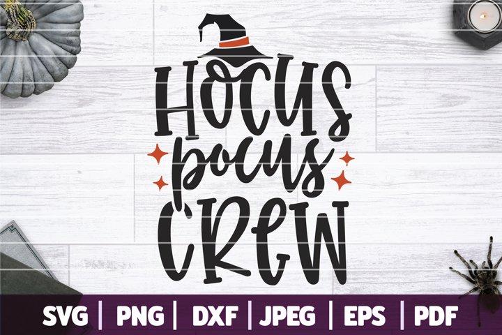 Hocus Pocus Crew SVG, Hocus Pocus SVG, Halloween SVG