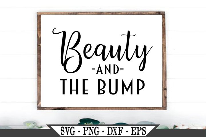 Beauty and The Bump SVG