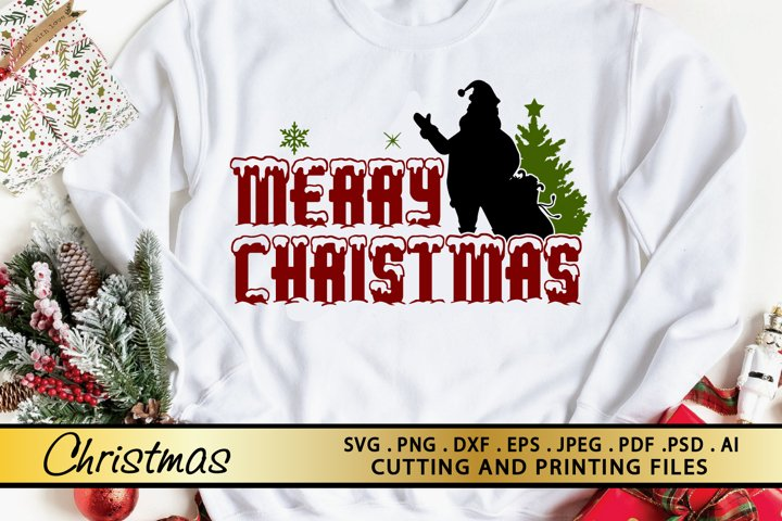 Christmas SVG PNG EPS DXF Files For Cutting and Printing