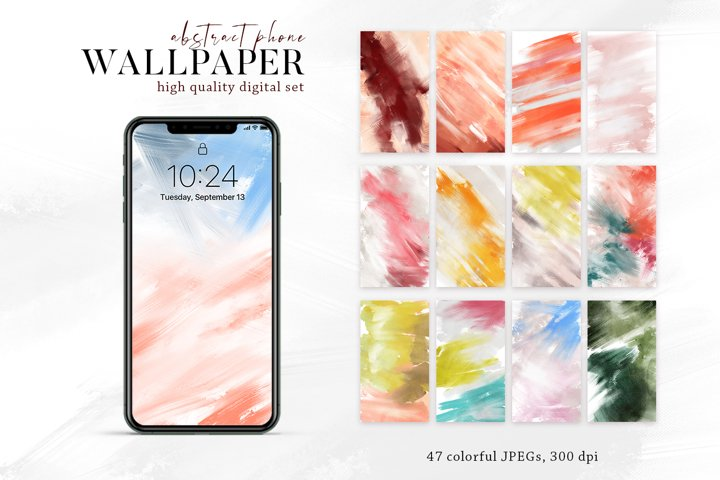 Watercolor Background abstract digital paper oil alcohol ink