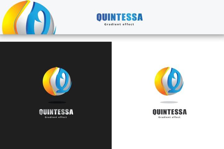 Logo 3D template