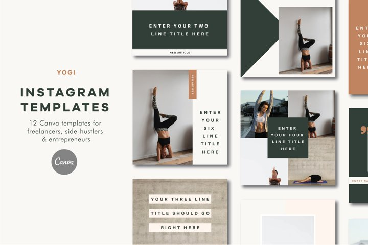 Instagram Templates | Canva | Yogi