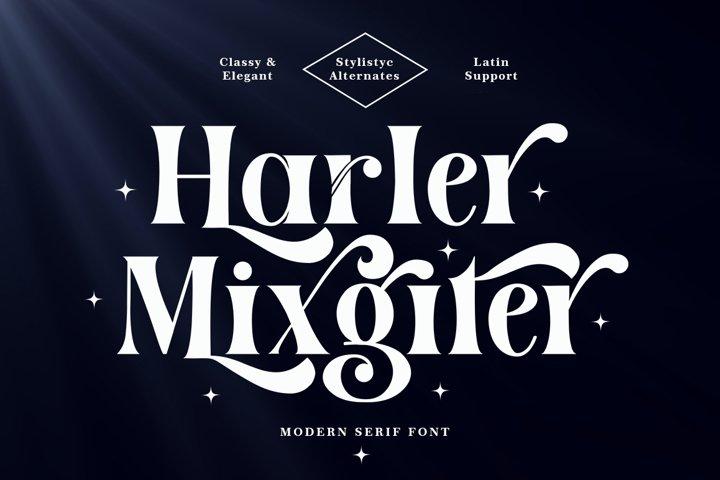 Harler Mixgiter Serif