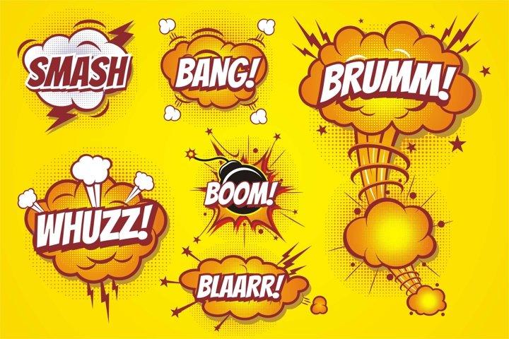 Comic Boom effect