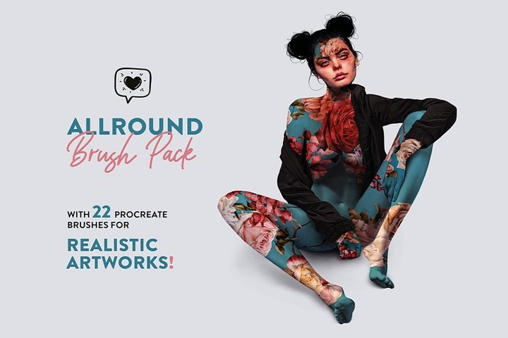 Allround Brush Pack with 22 Brushes