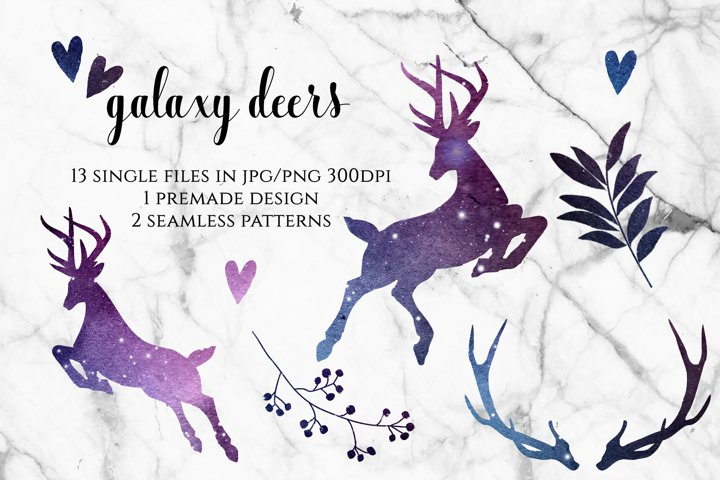 Galaxy Deers and Plants
