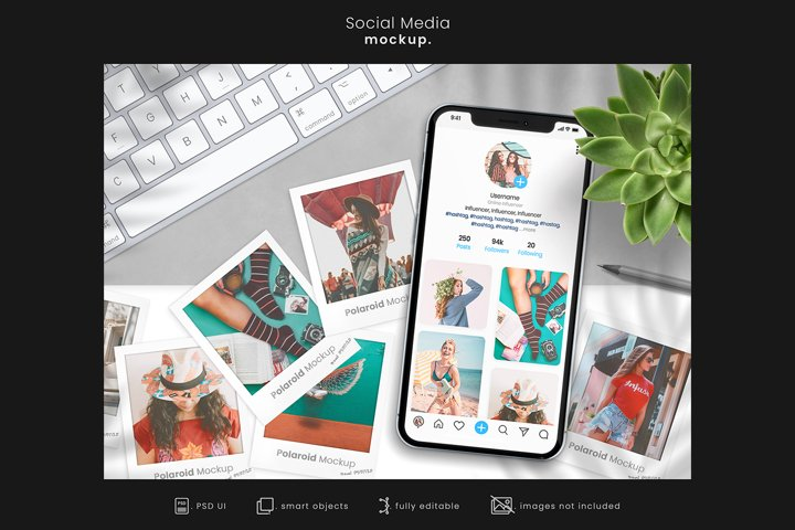 Social Media Branding Mockup for Instagram/App mockups 9