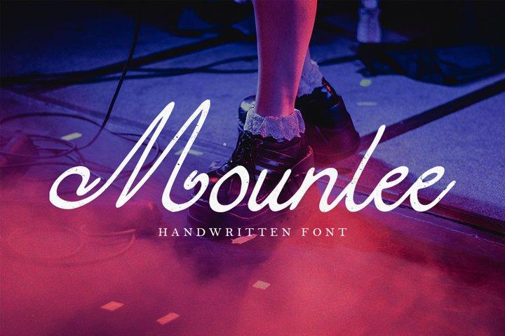 Mounlee - Handwritten Font