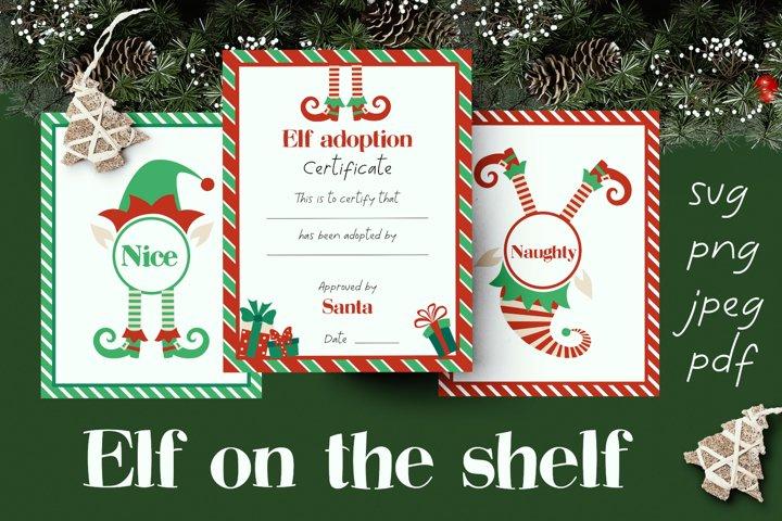 Elf on the shelf prints bundle