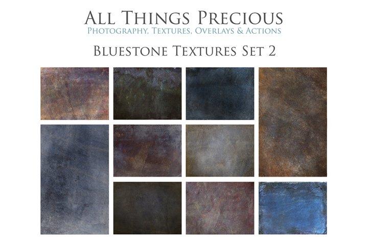10 Fine Art Textures BLUESTONE - SET 2