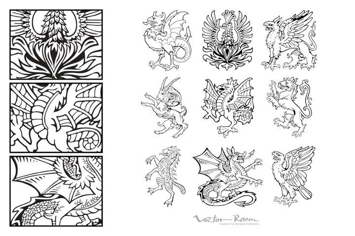 Heraldic Monsters Vol. II