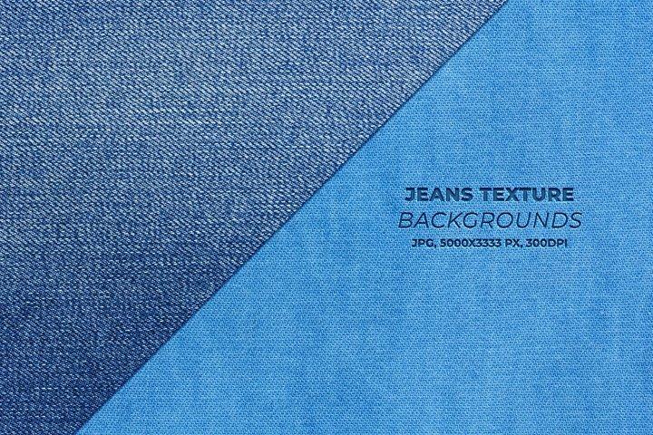 Jeans texture backgrounds