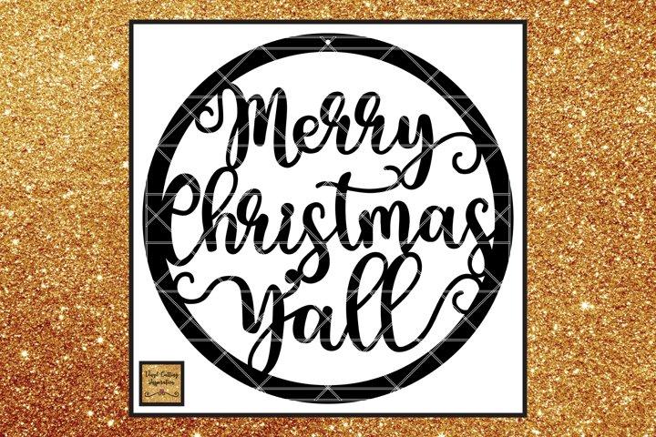 Farm HouseChristmas Svg, Merry Christmas Yall Svg, Christmas