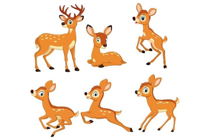 Cartoon Deers Bundles