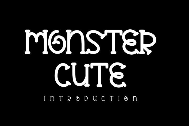 Monster Cute