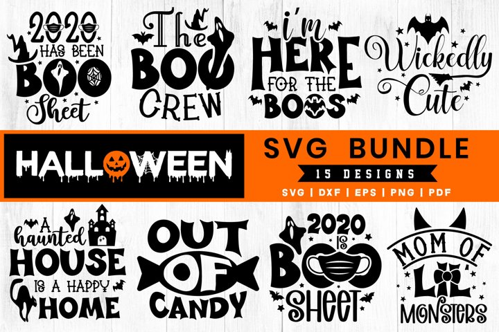 Halloween SVG Bundle Vol.6, 15 Halloween SVG Cut Files