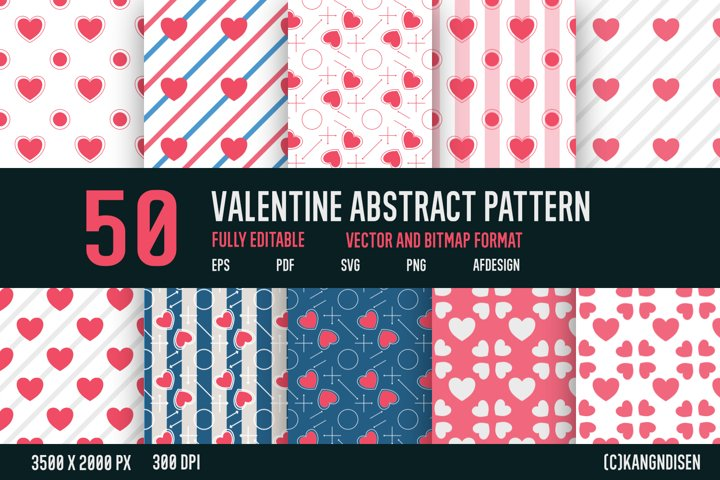 VALENTINE ABSTRACT PATTERN