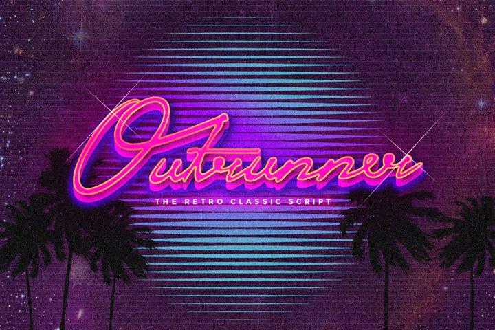 Outrunner Retro Script