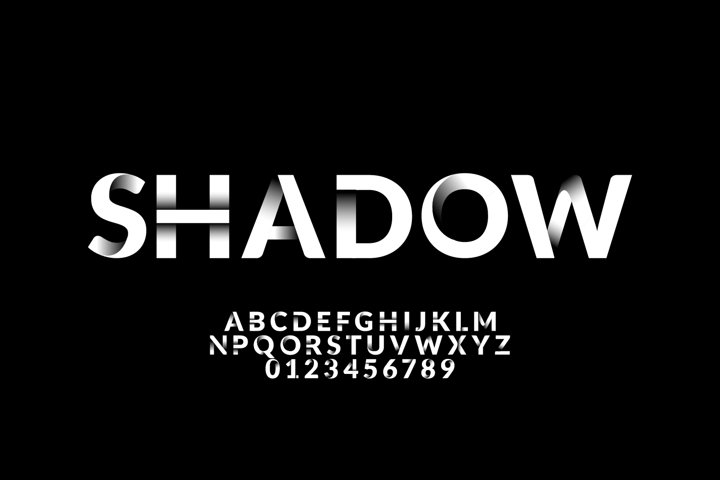 SHADOW TEXT