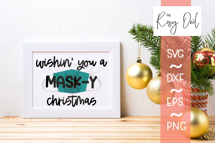 Mask-y Christmas SVG | Funny Christmas SVG