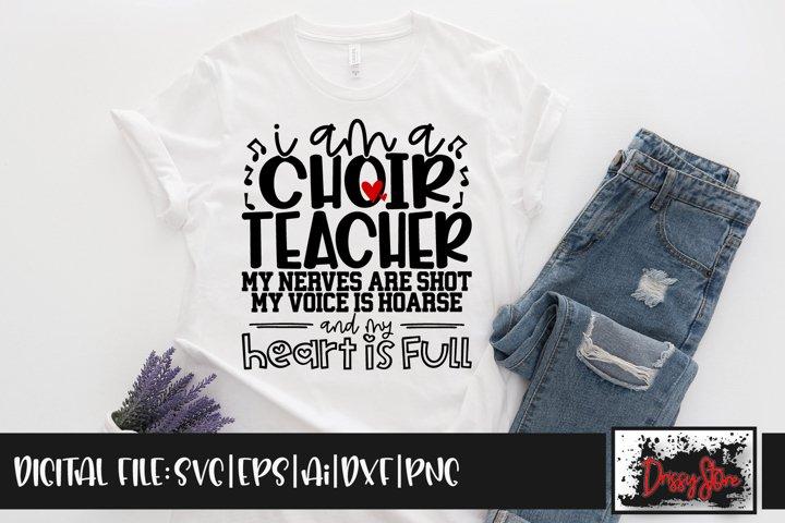I am a Choir Teacher SVG DXF Ai EPS PNG