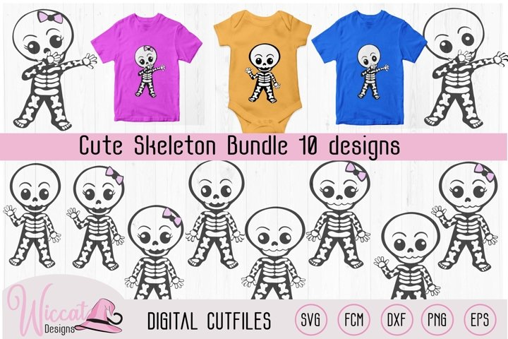 Cute skeleton bundle, boy skeleton, girl skeleton,