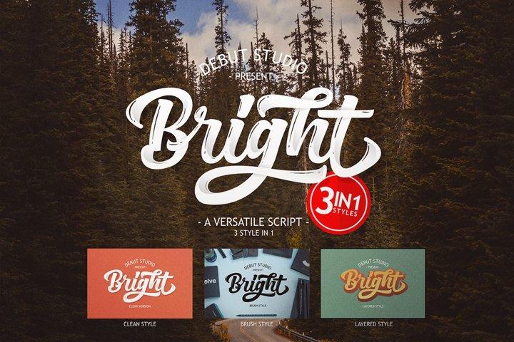 Bright Script (Fonts Trio)