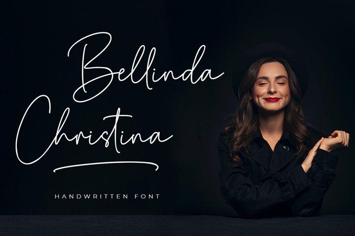 Bellinda Christina - Handwritten Signature