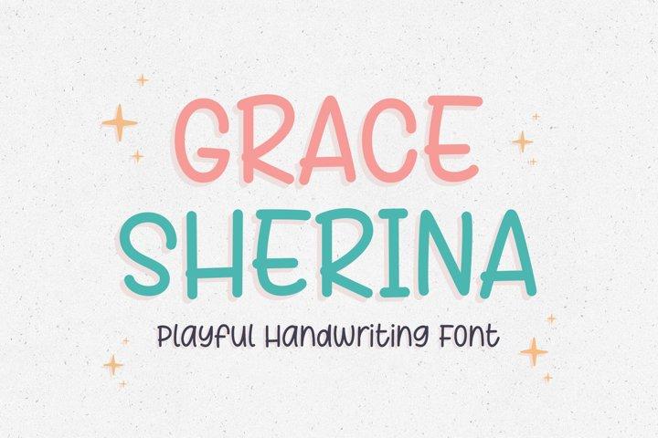 Playful Handwritten - Grace Sherina Font