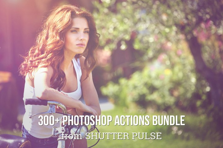 300 Photoshop Actions Bundle