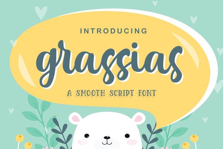 Grassias Sooth Script