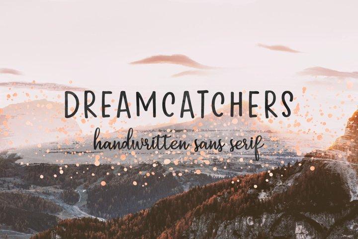 Dreamcatchers   A Playful Sans Serif