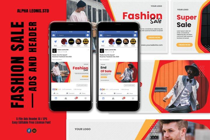 Facebook Fashion Ads Header