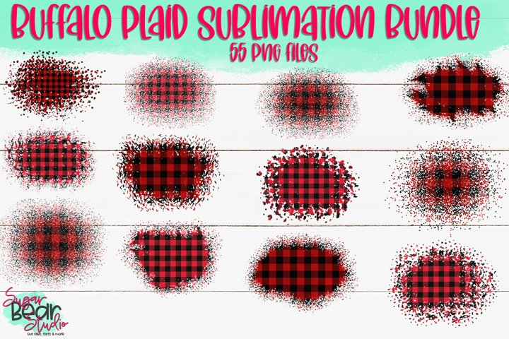 Buffalo Plaid Bundle - 55 PNGs For Sublimation