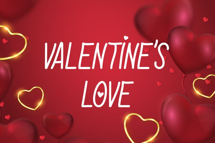 Valentines Love Font