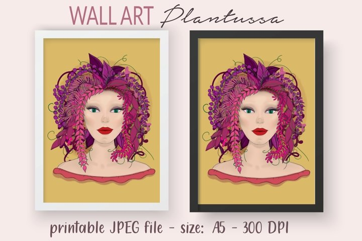 Printable - Wall Art - Post card - Illustration - JPG 300DPI
