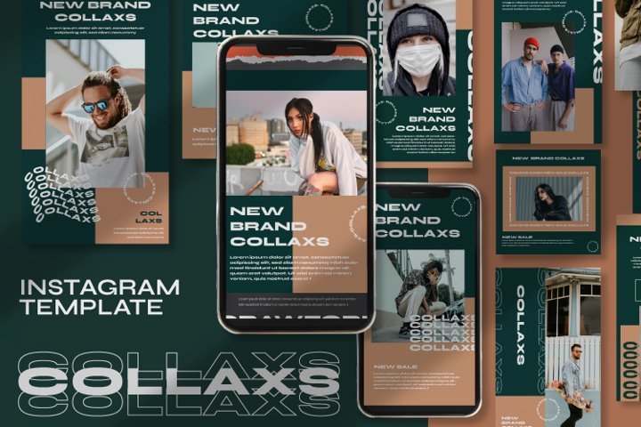 Collaxs Instagram Template
