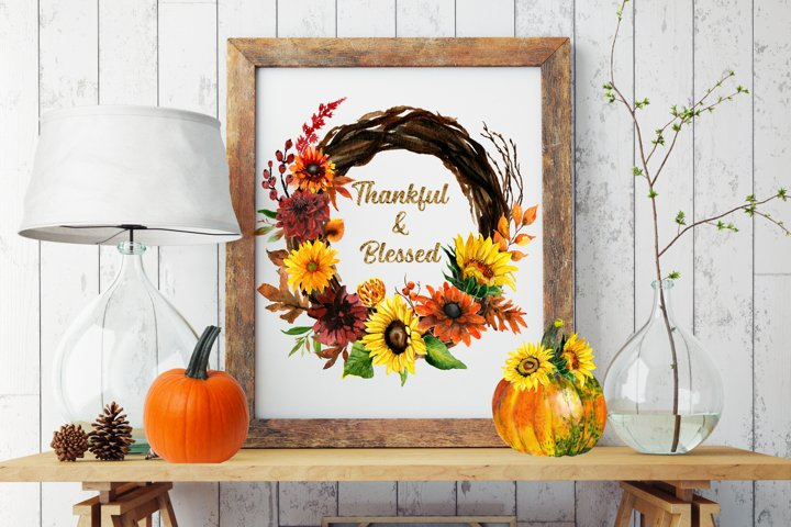 Thankful Quotes, Thankful Grateful Blessed Quotes Printable