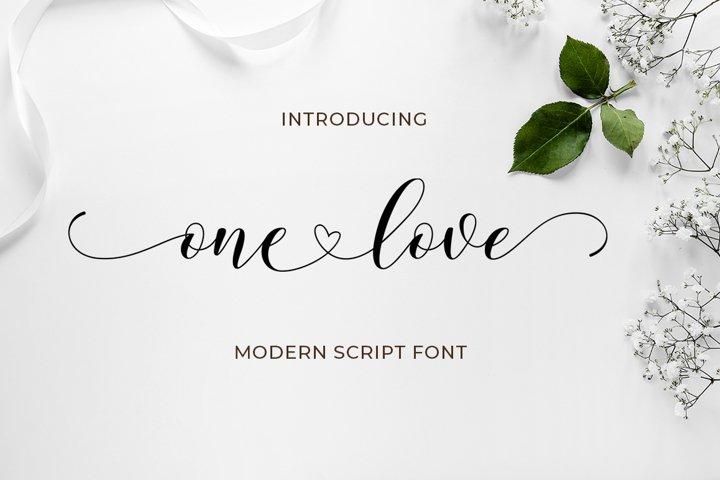 One Love script plus extras