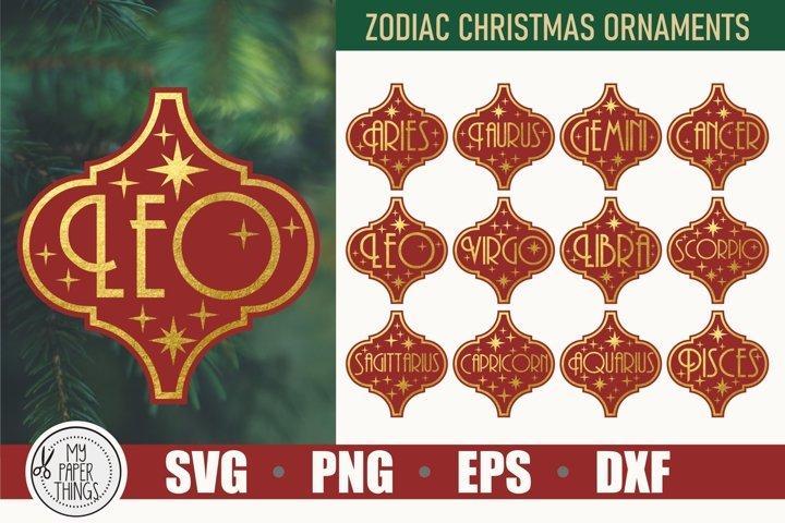 Tile Ornament SVG   Arabesque Tile SVG   Zodiac SVG